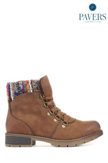 Pavers Ladies Ankle Boots