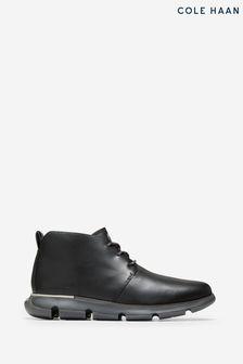Cole Haan Black 4.Zerogrand Chukka Boots