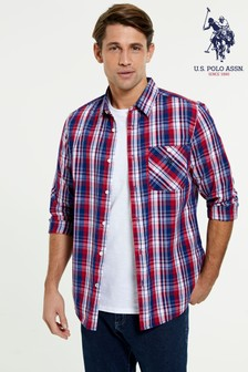 U.S. Polo Assn. Long Sleeve Check Shirt