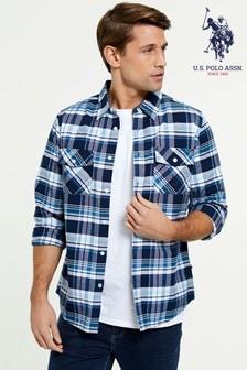 U.S. Polo. Assn. Long Sleeve Check Shirt