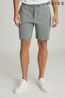 Reiss Sage Belsay Garment Dyed Jersey Shorts