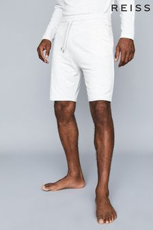 Reiss Grey Tyne Jersey Shorts