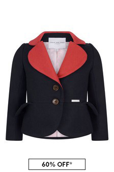 Girls Navy Jacket