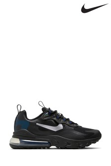 Nike Grey/Blue Air Max 270 Youth Trainers