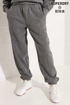 Superdry Grey Code Essential Joggers