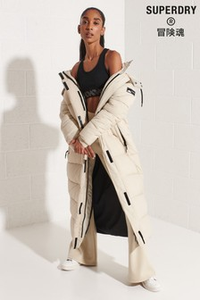 Superdry Nude Touchline Padded Coat