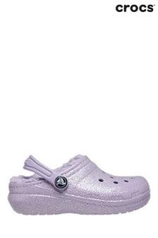 Crocs Classic Glitter Lined Clog