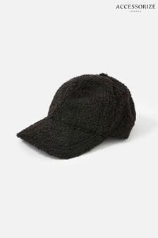 Accessorize Black Borg Cap