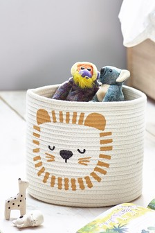 Lion Storage Basket