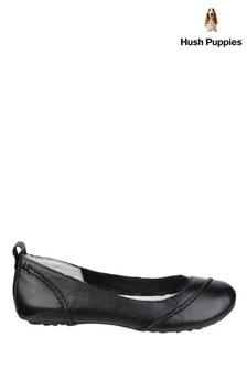 Hush Puppies Black Janessa Slip-On Shoes