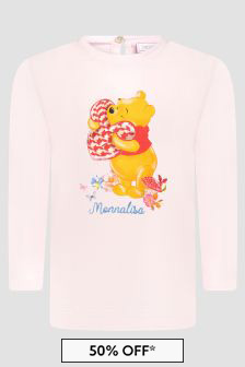 Monnalisa Baby  Pink T-Shirt