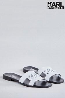 Karl Lagerfeld Flat Slide on Sandal