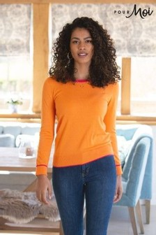 Pour Moi Colourblock Knit Jumper
