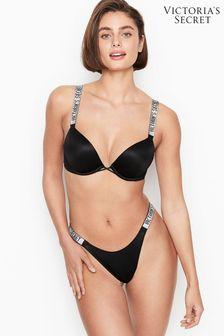 Victoria's Secret Rhinestone Shine Strap Thong Panty