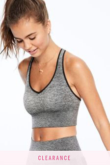 Victoria's Secret PINK Seamless Lightly Lined Sports Bra