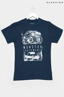 BadRhino Truck Graphic Print T-Shirt