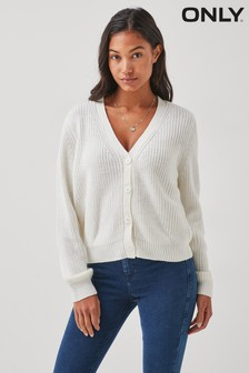 Only Button Front Cardigan