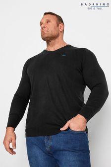 BadRhino Essential V-Neck Knitted Jumper