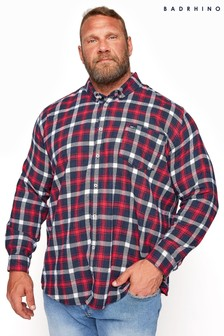 BadRhino Brushed Cotton Check Shirt