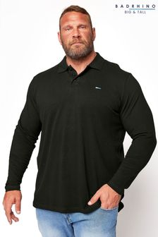 BadRhino Essential Long Sleeve Polo Shirt