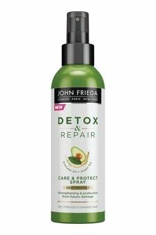 John Frieda Detox & Repair Care & Heat Protect Spray 200ml