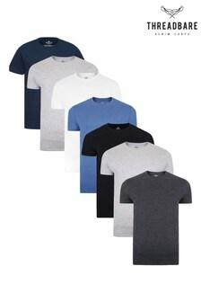 Threadbare Core T-Shirts 7 Multi Pack