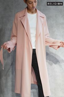 Religion Lightweight Trench With Belt