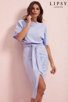 Lipsy Kimono Tie Waist Dress