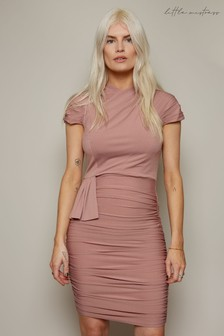 Little Mistress Irvine Ruched Bodycon Dress
