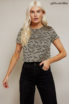 Little Mistress Metallic Sequin Effect Box Top