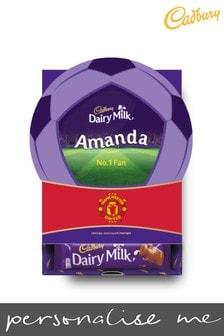 Personalised Manchester United Cadbury Dairy Milk Favourites Box by Yoodoo