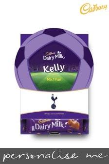Personalised Tottenham Hotspur Cadbury Dairy Milk Favourites Box by Yoodoo