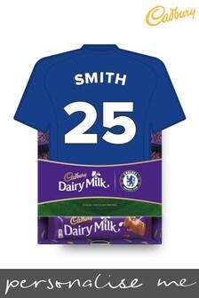 Personalised Chelsea Cadbury Dairy Milk Favourites Shirt Box by Yoodoo