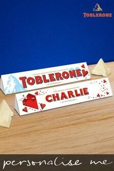 Personalised White Chocolate Toblerone by Yoodoo