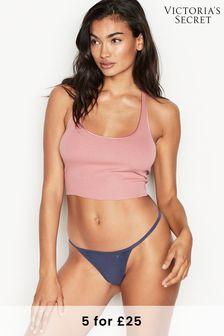 Victoria's Secret Stretch Cotton V String Panty