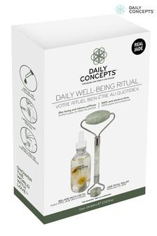 Daily Concepts Daily Jade Facial Roller With Iris Oil Giftset