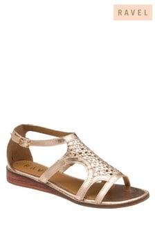 Ravel Leather OpenToe Sandals