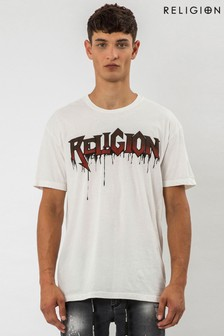 Religion Drips Graphic T-Shirt