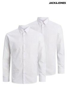 Jack & Jones 2 Pack Long Sleeve Shirt