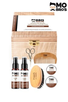 Mo Bros Wooden Signature Beard Grooming Collection Sandalwood