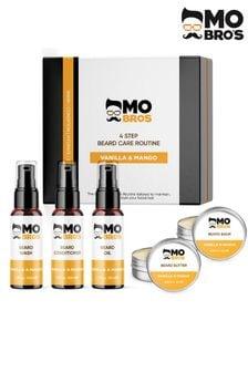 Mo Bros 4 Step Beard Care Kit Vanilla and Mango