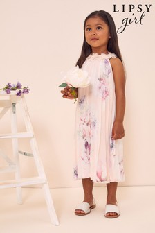 Lipsy Mini Pleated Occasion Dress