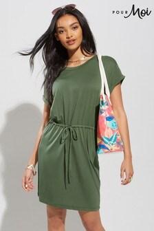 Pour Moi Jersey T-Shirt Beach Dress