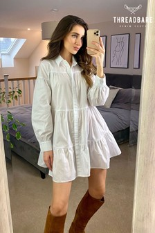Threadbare Shannon Oversized Shirt Dress