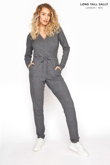 Long Tall Sally Soft Wrap Jumpsuit