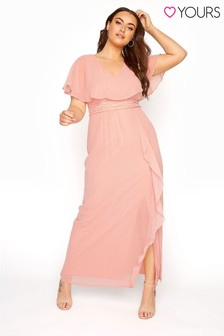 Yours Angel Sleeve Maxi Dress