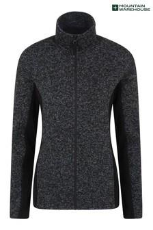 Mountain Warehouse Idris Womens Panelled Full-Zip Fleece