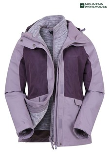 Mountain Warehouse Thunderstorm 3-In-1 Womens Jacket