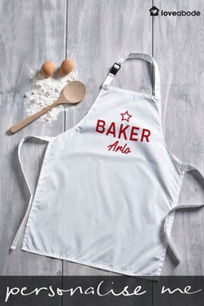 Personalised Children's Apron by Loveabode