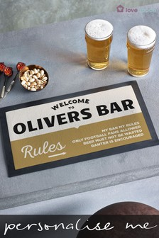 Personalised Beer Mat by Loveabode